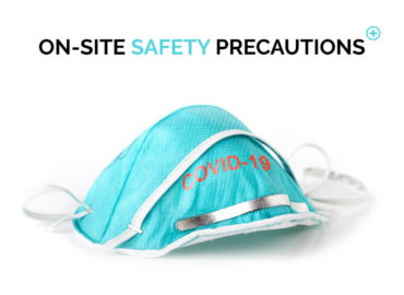 On-site safety precautions