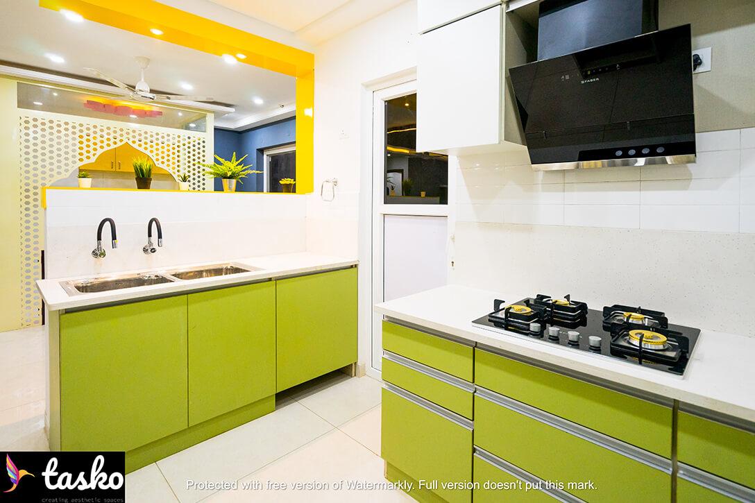 Modular Kitchen In Aparna Serene Park, Hyderabad