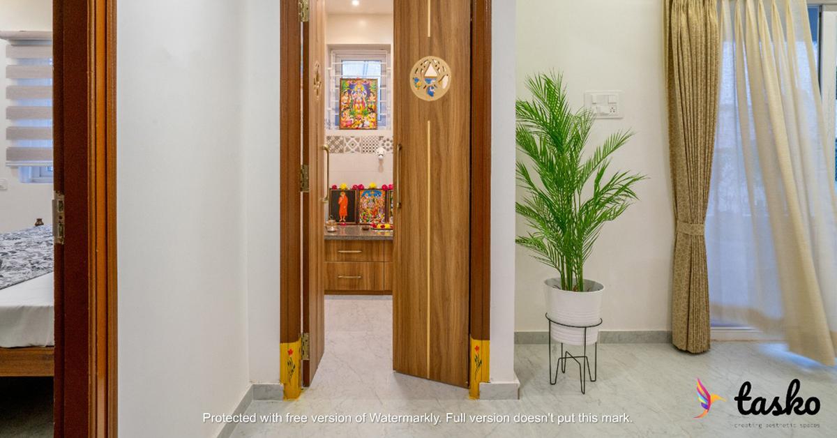 Pooja Room Enterance in Amberpet