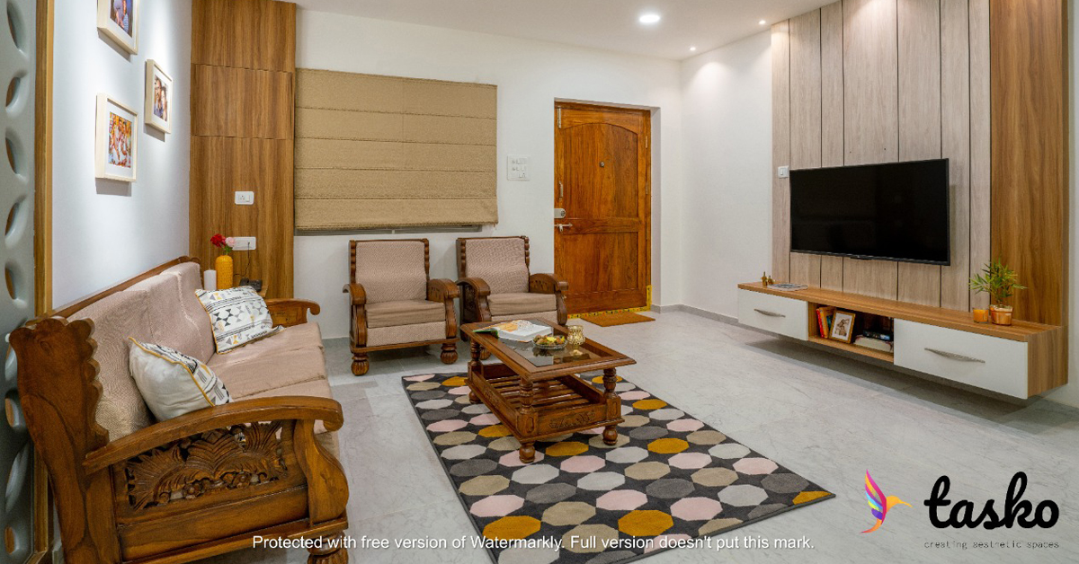 Lobby area in Amberpet, Hyderabad