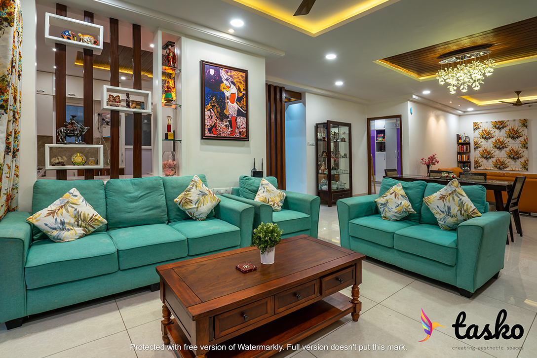 Beautiful Living room design in Gachibowli