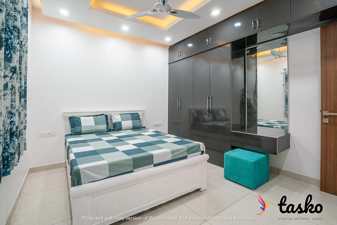 master bedroom in Kondapur, Hyderabad
