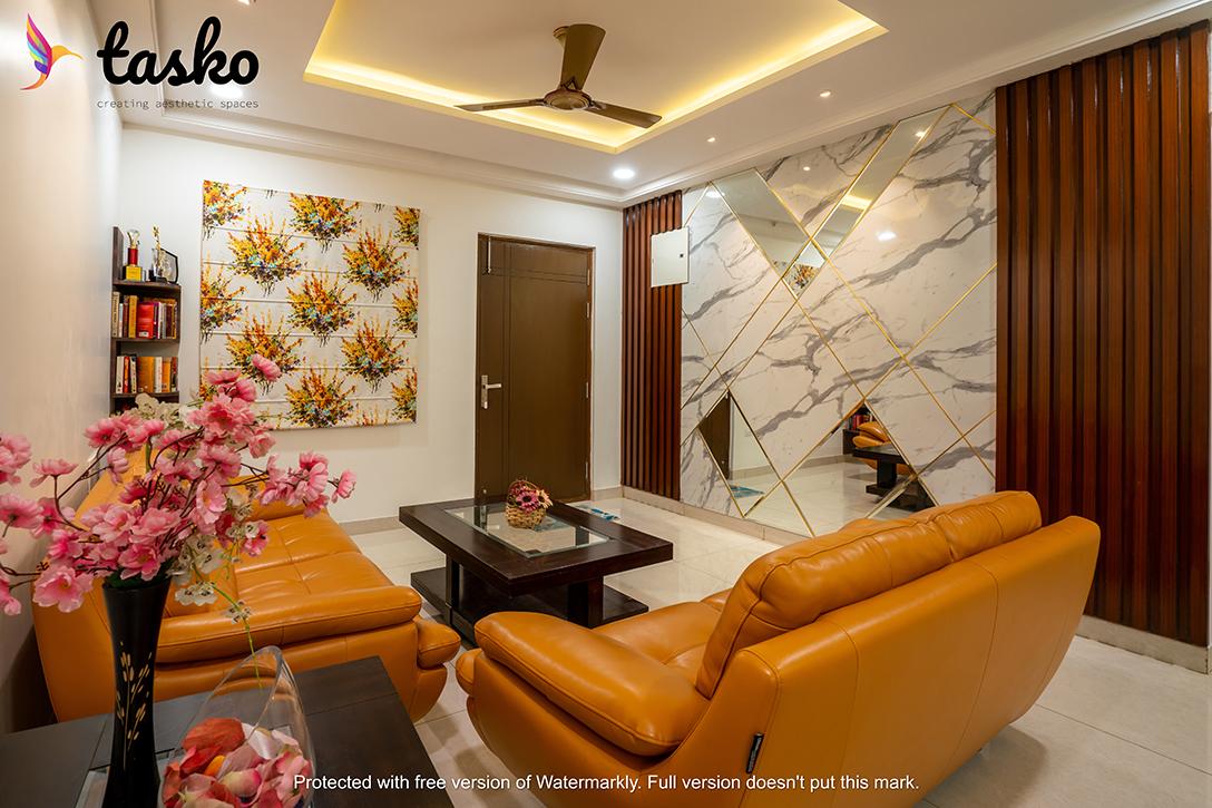 Lobby area in Gachibowli